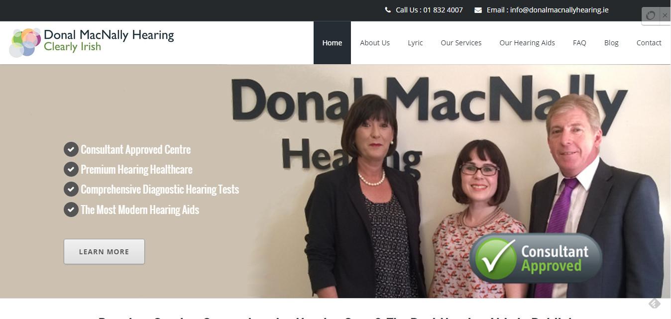 Donal MacNally Hearing